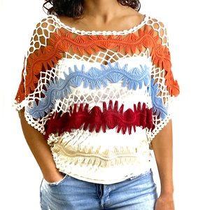 🌺AnM Crochet Crop Top